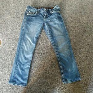 Rock Rival Crop Jeans